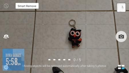 Smart remove Zenfone selfie