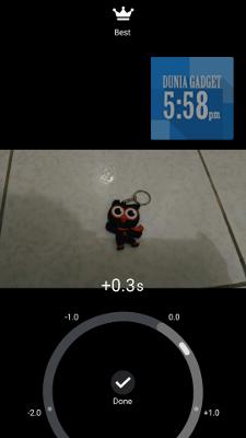 Fitur time rewind Zenfone Selfie