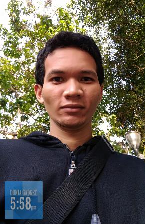 Hasil kamera depan Zenfone Selfie