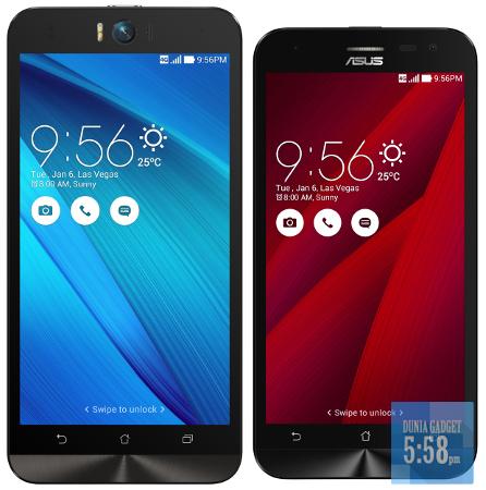 Zenfone Selfie dan Zenfone 2 Laser