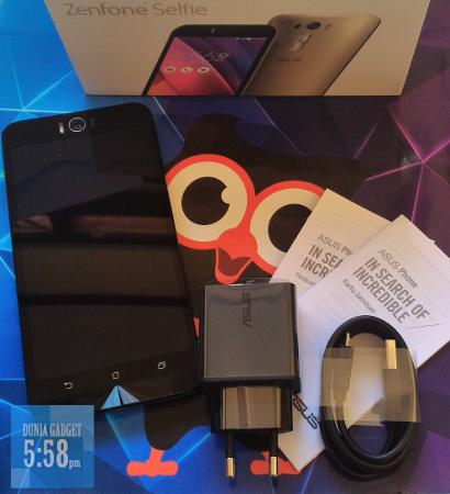 Paket penjualan Zenfone Selfie