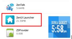 ZenUI Launcher