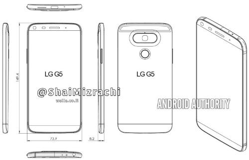 Bocoran desain LG G5