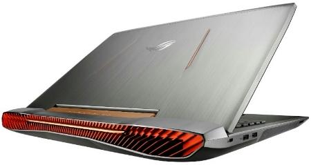 Desain ASUS ROG G752
