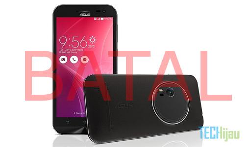 Zenfone Zoom Batal Masuk Indonesia