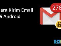 Cara mengirim email di hape Android