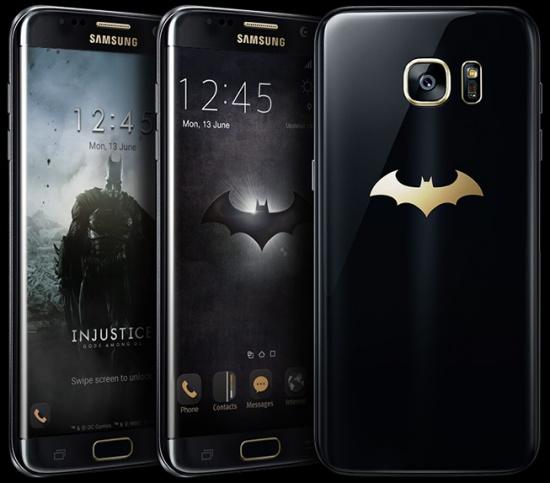 Samsung Galaxy S7 Edge edisi batman
