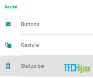 Cara menampilkan persentase baterai andromax A