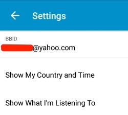 Menyalin kontak BBM tanpa invite ulang