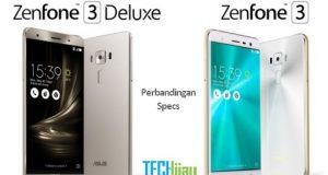 Perbandingan Zenfone 3 dengan Zenfone 3 Deluxe
