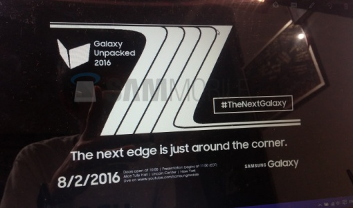 Rumor Galaxy Note 7
