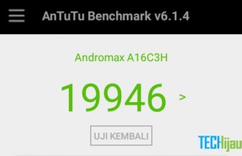 Skor hasil benchmark Andromax A