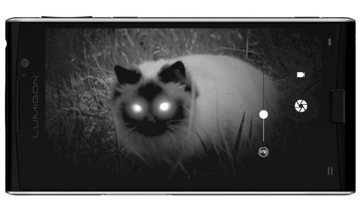 Smartphone dengan kamera Night vision