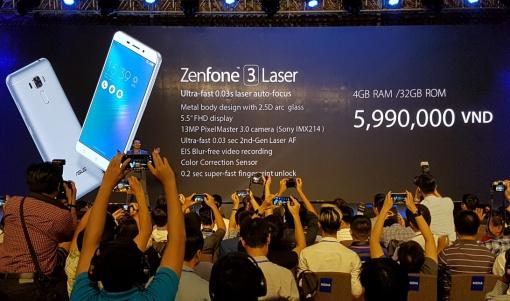 ASUS Zenfone 3 Laser Diperkenalkan