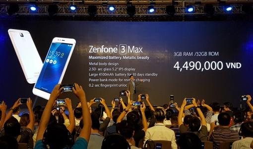 ASUS Zenfone 3 Max Diperkenalkan