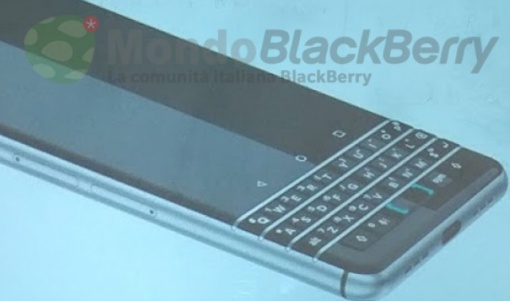 Bocoran Foto BlackBerry Mercury