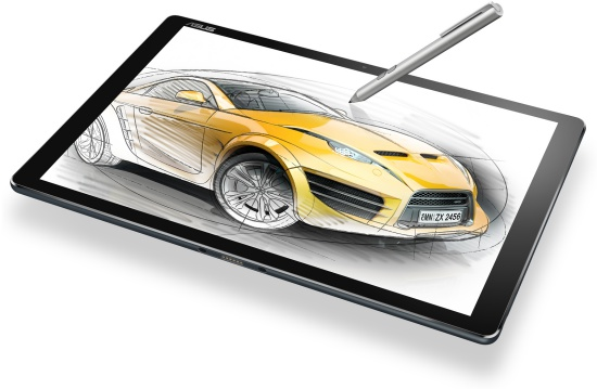 ASUS Transformer 3 tablet dengan stylus pen