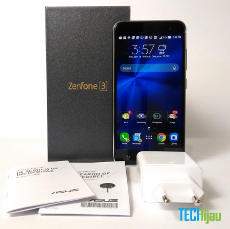 Unboxing ASUS Zenfone 3 Indonesia