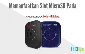 Fungsi microSD pada Andromax M3Y