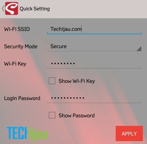 Mengganti password wifi Andromax M3Y