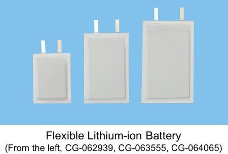 Tiga model baterai fleksibel panasonic