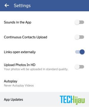 Aplikasi facebook update otomatis