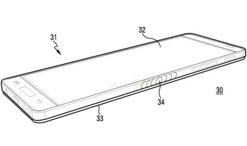 Calon smartphone bisa dilipat Samsung