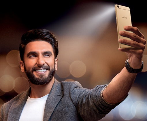 Hape spesialis selfie dari Vivo