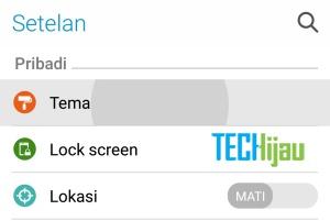 Mengembalikan tampilan jam pada lockscreen asus Zenfone