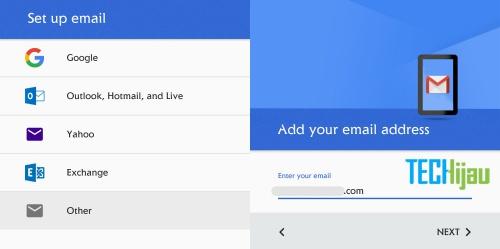 Cara agar email domain bisa dibuka di android