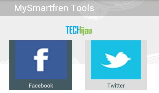 Cek kuota smartfren, muncul fb dan twitter