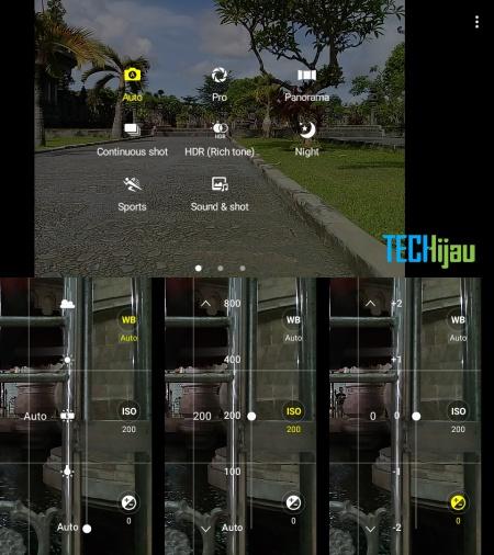 Pilihan mode kamera Galaxy J2 Prime