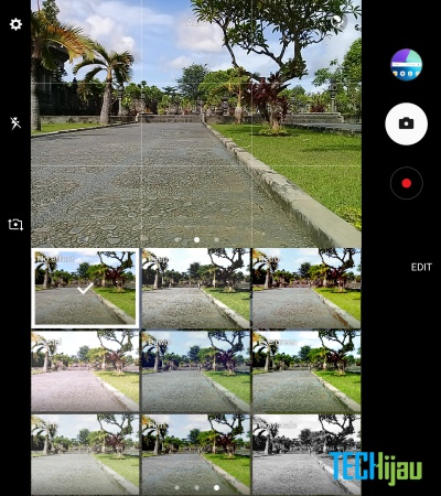 Tampilan kamera Samsung Galaxy J2 Prime