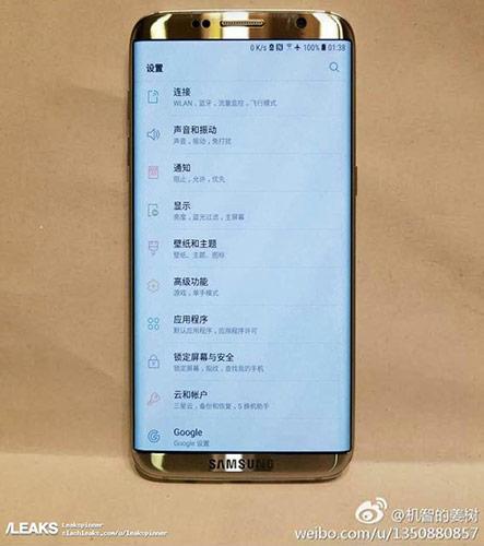 Bocoran foto Samsung Galaxy S8