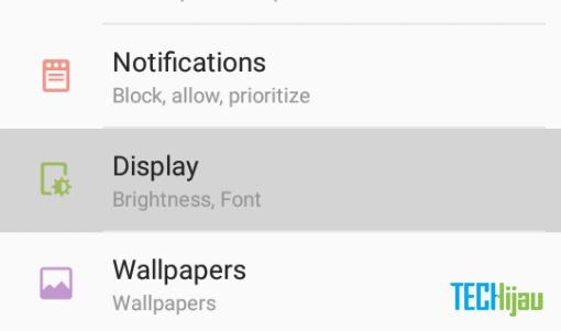 Cara Ganti Font (Huruf) Samsung Galaxy (Marshmallow) | Techijau