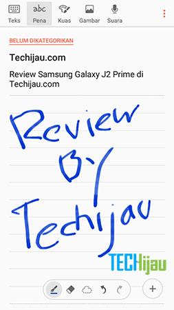 Fitur Samsung Note Galaxy J2 Prime