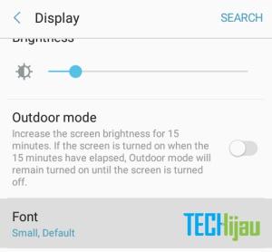 Mengganti font hape Samsung Galaxy
