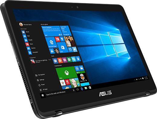 Zenbook Flip UX360 mode tablet