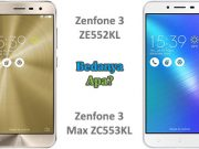 Bagus mana Zenfone 3 Max ZC553KL atau ZE552KL