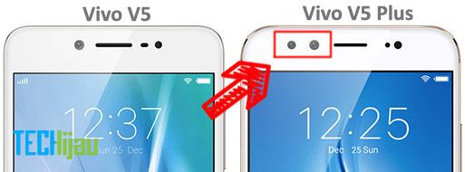 Perbandingan antara Vivo V5 dengan V5 Plus