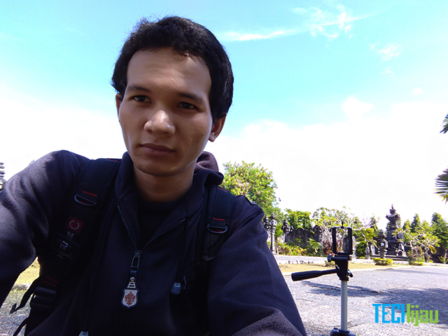 Hasil foto kamera depan Zenfone 3 Max ZC553KL