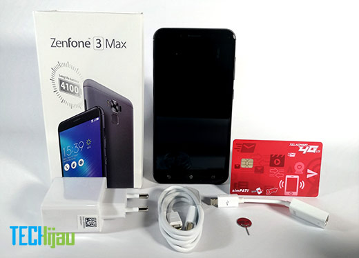 Paket penjualan Zenfone 3 Max ZC553KL
