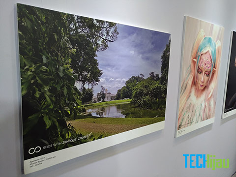 Pameran karya foto dengan Zenfone Zoom S