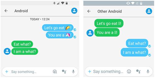 Pembaruan emoji Android