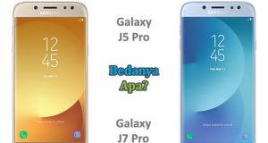 Perbedaan Antara Samsung Galaxy J5 Pro dengan Galaxy J7 Pro