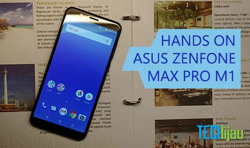 Kesan pertama menggunakan Zenfone Max Pro M1