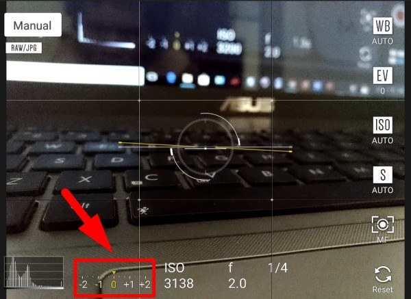 Cara menggunakan mode manual kamera