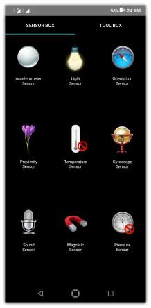 Kelengkapan sensor zenfone max pro m2