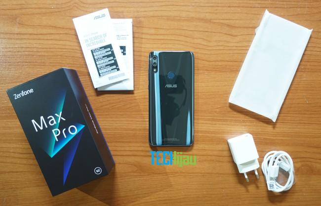 Paket penjualan asus zenfone max pro m2