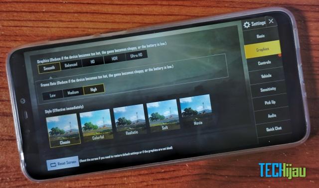 Zenfone max m2 zb663kl main pubg